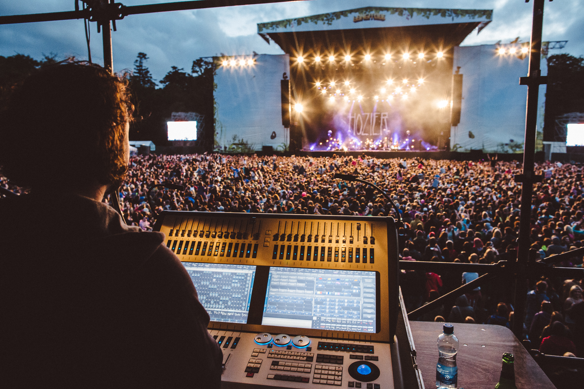Avolites Sapphire Touch tours the US and UK with Hozier